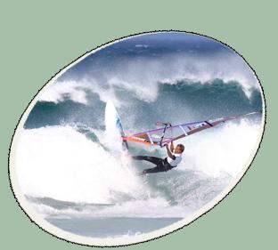 windsurfing in kapstadt
